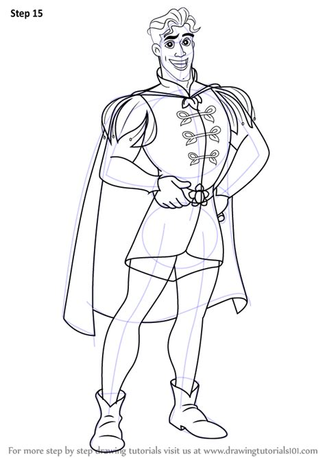 Learn How To Draw Prince Naveen From The Princess And The From The Princess And The Frog Free Coloring Sheets