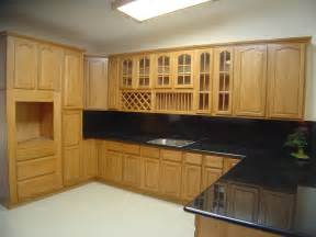Kitchen Cupboard Furniture Natural Oak Kitchen Cabinets Solid All Wood Kitchen