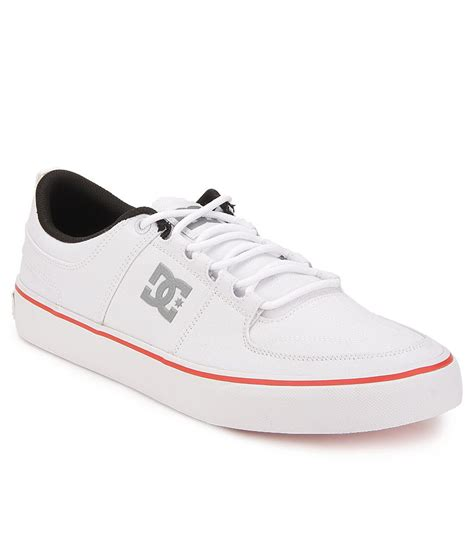dc lynx vulc white smart casuals casual shoes price in