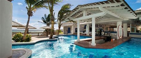 Bar Im Pool by All Inclusive Bars Coconut Bay Resort Spa St Lucia