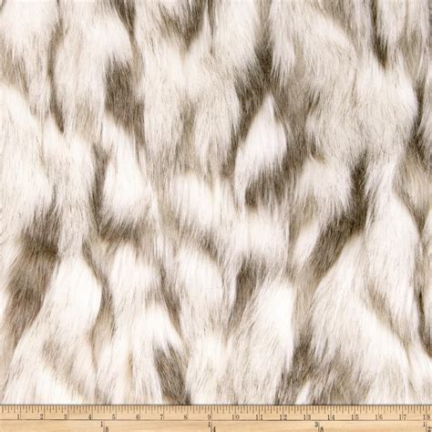 Faux Fur by Shannon Faux Fur Tibetan Sand Fox Ivory Beige Discount