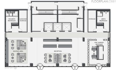 hotel reception design layout boutique hotel lobby floor plan google search visiting