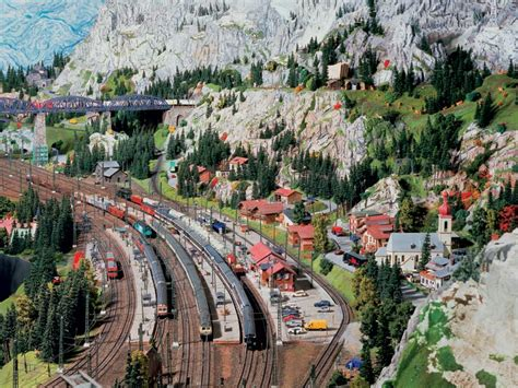 Germany Miniature Wunderland miniatur wunderland world s largest model railway 171 twistedsifter