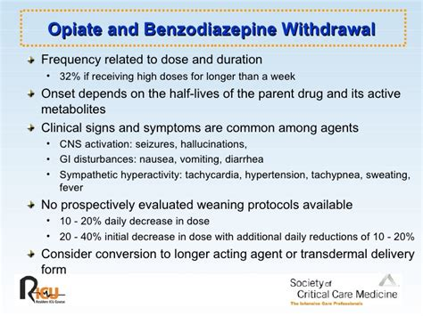 Lorazepam For Opiate Detox by Sedation