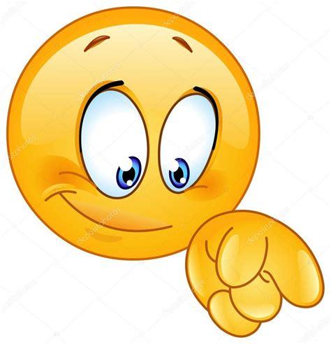 clipart faccine pointing emoticon stock vector 169 yayayoyo 57898487