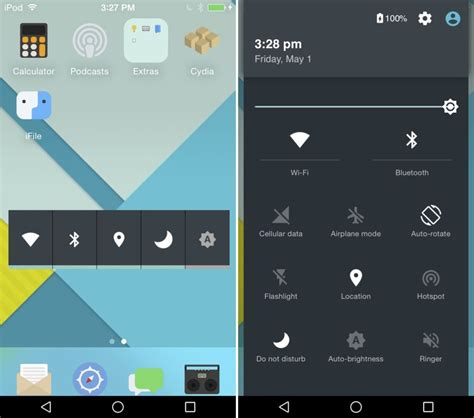 give your iphone an ios 7 makeover with this new theme how to turn ios into android give your iphone an android
