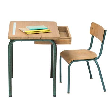 chaise bureau bureau et chaise d 233 cole vintage quot anatole quot