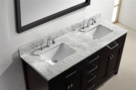 square bathroom vanity sink virtu usa md 2072 wmsq 72 quot caroline square sink