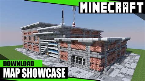 minecraft police police station minecraft pc map showcase w download