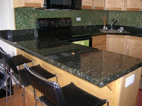 Black Leather Granite Kitchen by The Pros And Cons Of Black Granite Countertops A