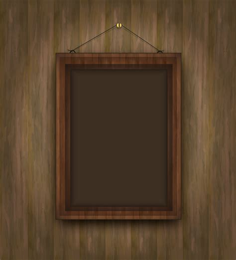 Wood Frame Pattern Photoshop   set of wooden background with frames vector 01 over