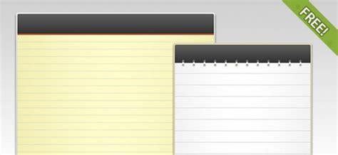Plantilla Curriculum Vitae Bloc De Notas 2 Gratis Plantillas Psd Bloc De Notas Descargar Psd Gratis