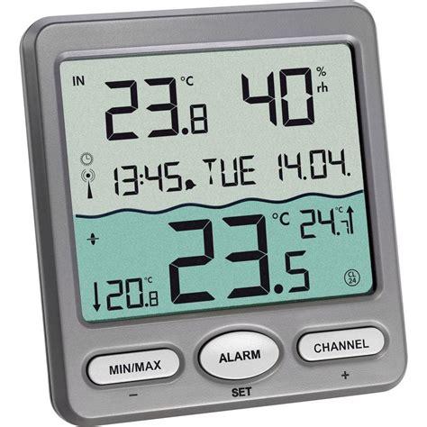 thermom 232 tre de piscine tfa venice funk pool thermometer