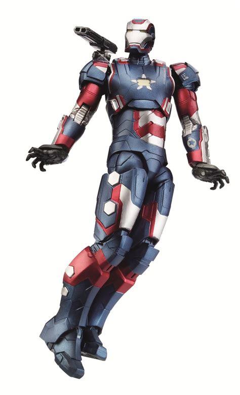Ironman Patriot Marvel fair 2013 hasbro s official iron 3 figure images