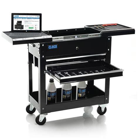 Ultimate Desk Setup mechanics tool cart trolley amp workstation