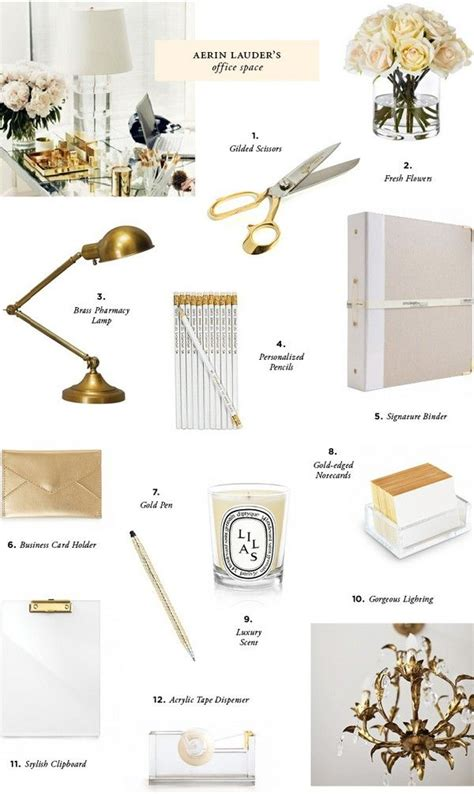 Nate Berkus Desk Accessories by 17 Best Ideas About Gold Office Accessories On