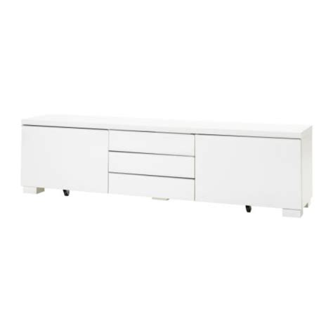 besta burs tv best 197 burs tv bench high gloss white ikea
