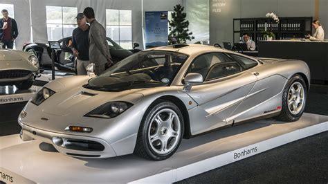 mclaren f1 sells for 15 62 million at bonhams auction