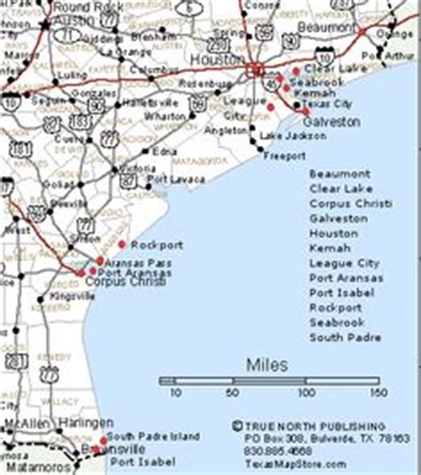 texas coastal cities map gulf of mexico mexico and maps on
