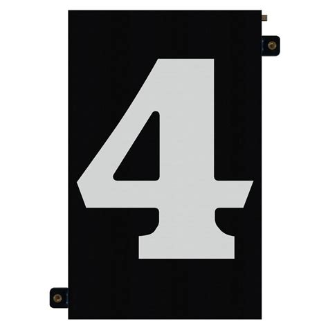 lighted house numbers home depot enviromate products 5 in modular led illuminated house