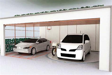 desain garasi mobil klasik 23 desain garasi mobil minimalis dengan pintu sing