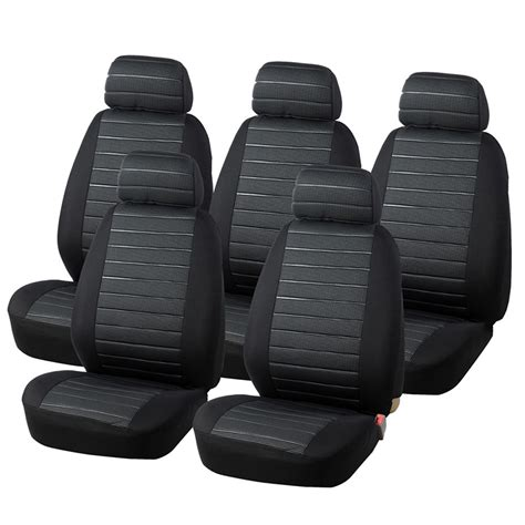 airbag compatible seat covers in india autoyouth 5 seats seat covers airbag compatible 5mm