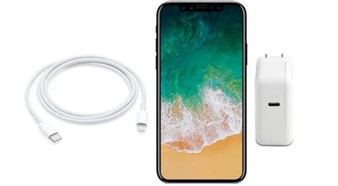 apple s iphone x will support fast charging but only with an additional 74 charger and cable