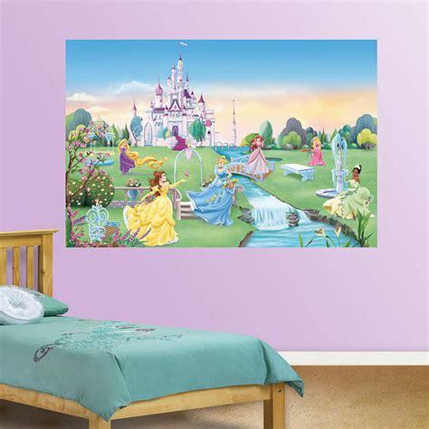 princess wall mural disney princess mural fathead wall decal