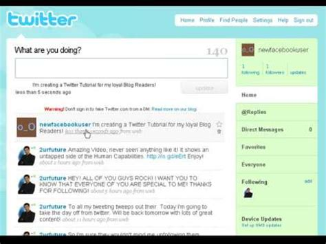 tutorial video twitter twitter tutorial