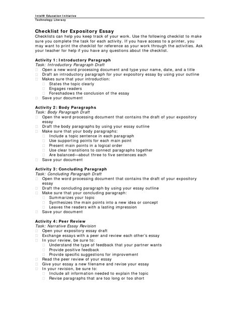 expository essay independent writing project texas staar aligned