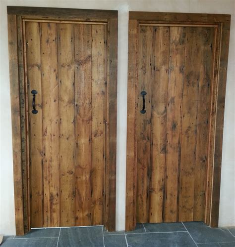 reclaimed timber doors