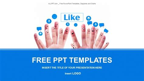 social networking free templates social network business powerpoint templates