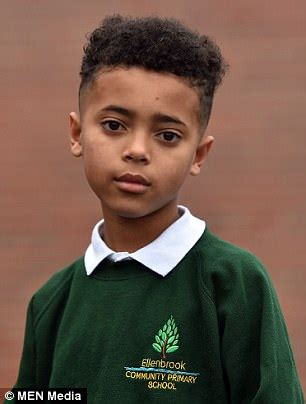 salford boy banned from school over extreme haircut inspired by boy banned from school s xmas concert because of hair