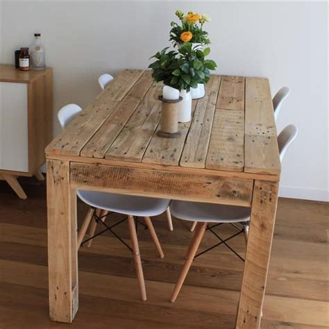 home made kitchen table 25 best ideas about pallet dining tables on