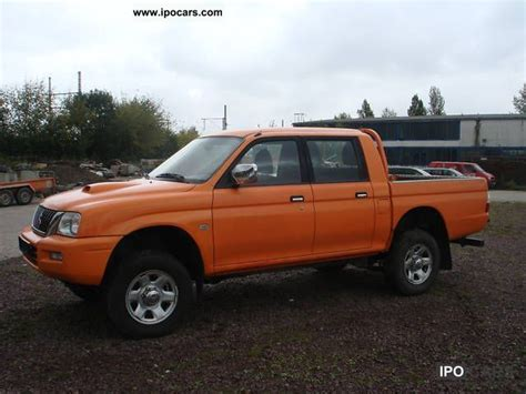 mitsubishi pickup 2005 2005 mitsubishi l200 pick up 4x4 double cab climate