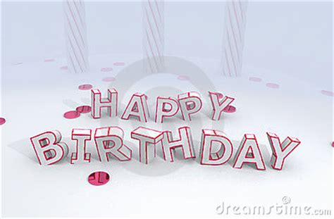 lettere divertenti lettere divertenti di buon compleanno immagine stock