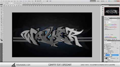 c4d template 3d graffiti text speed 1 c4d template
