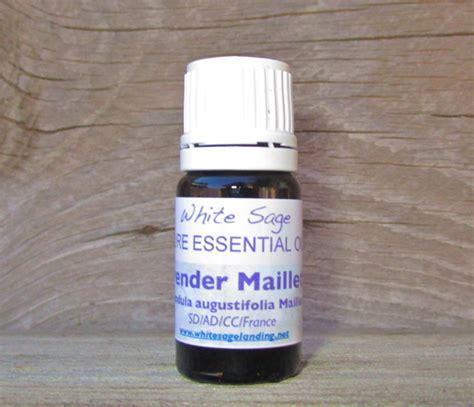 lavender maillette essential oil white sage landing