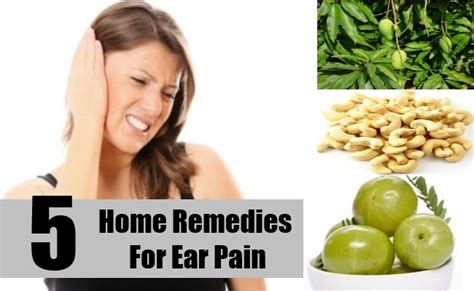 ear home remedies treatments cure top
