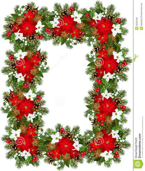 imagenes de navidad libres marco decorativo de la navidad fotos de archivo libres de