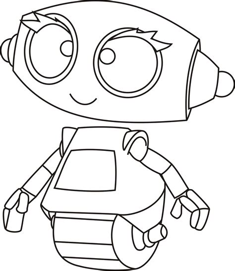 coloring pages for robot robot printable coloring pages