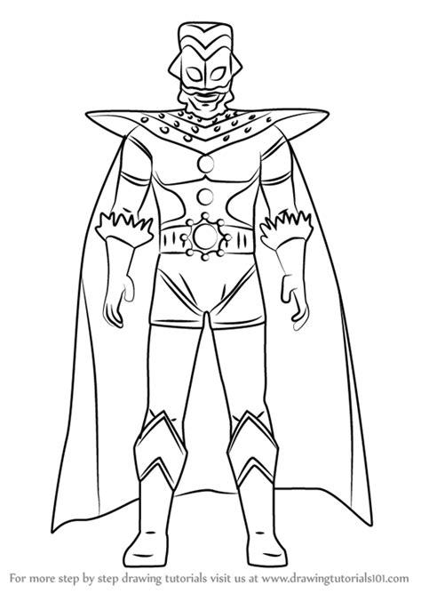 Lukisan Ultraman Zero | Cikimm.com