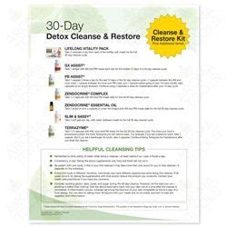 Springhill Detox 3772 quot 30 day detox cleanse and restore quot tear pad 50