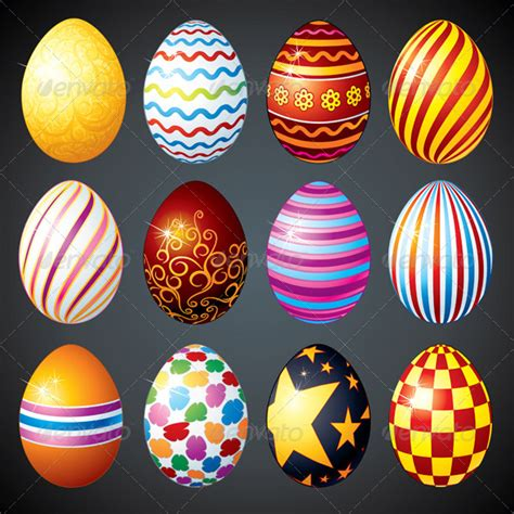 decorative easter eggs decorative easter eggs graphicriver