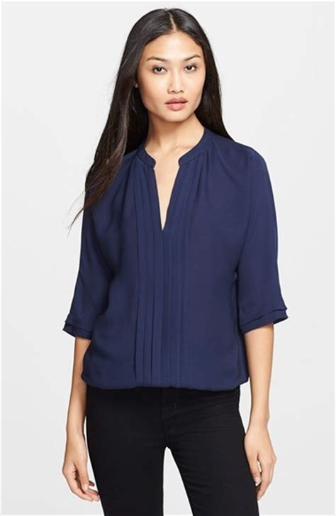 Joie Clothing Semi Sheer Tops by Joie Marru Semi Sheer Silk Blouse Where To Buy How To Wear