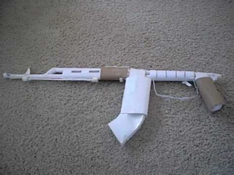 How To Make A Paper Gun Ak 47 - paper gun ak 47