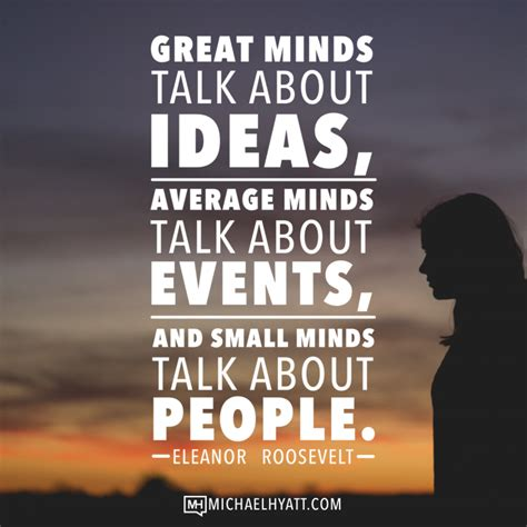 themes to talk about great minds talk about ideas average minds talk about