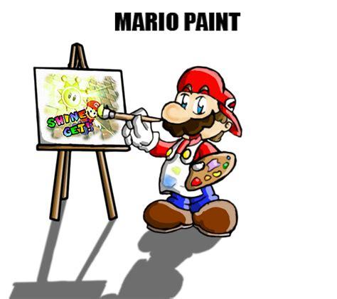 painting mario mario paint by chetrippo on deviantart