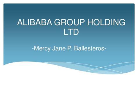 alibaba holdings alibaba group holding ltd