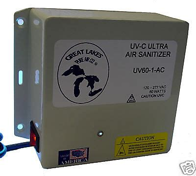 uv air filter purifier  duct  house unit  uvc